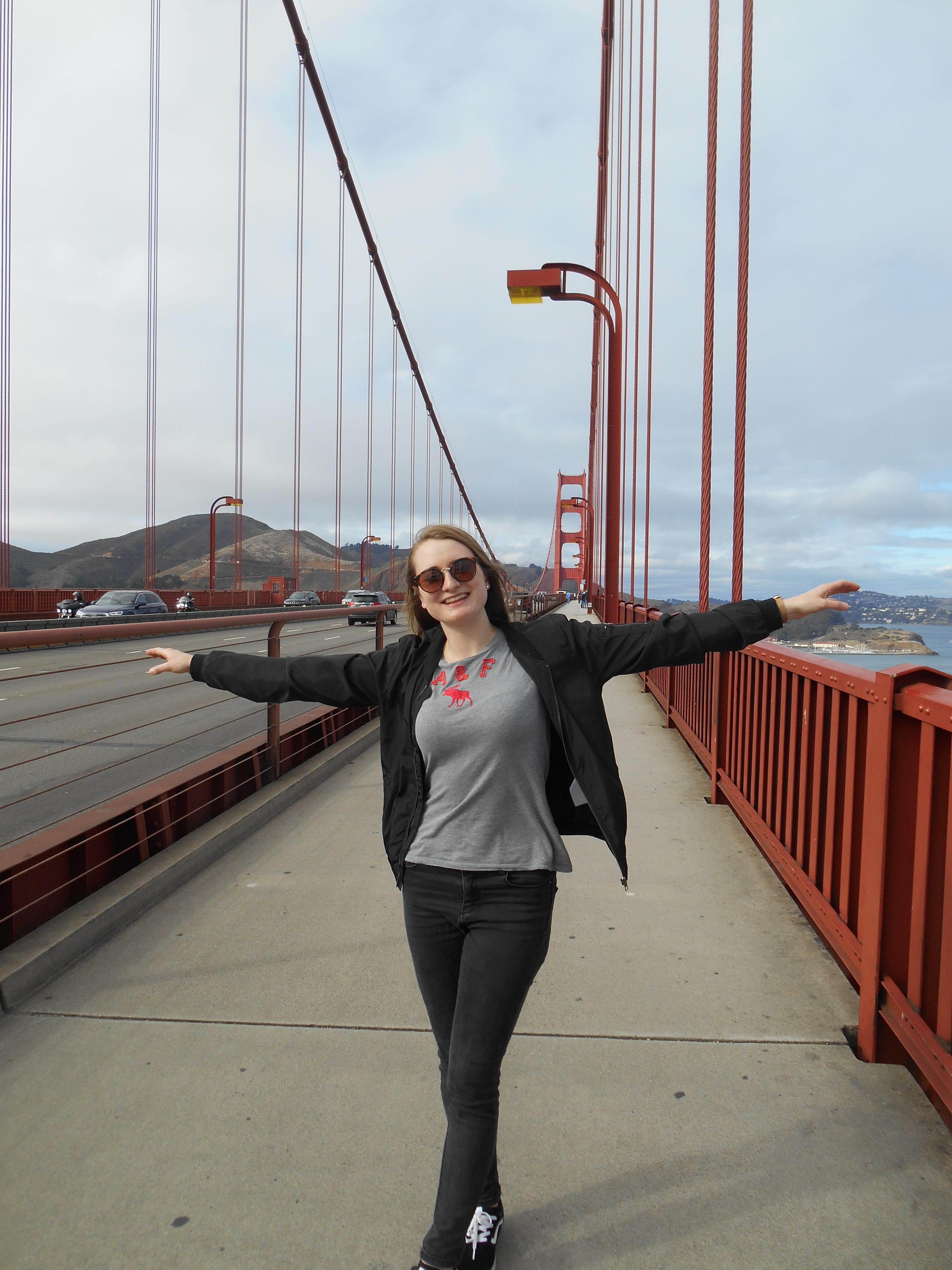 Golden Gate Bridge Fußweg