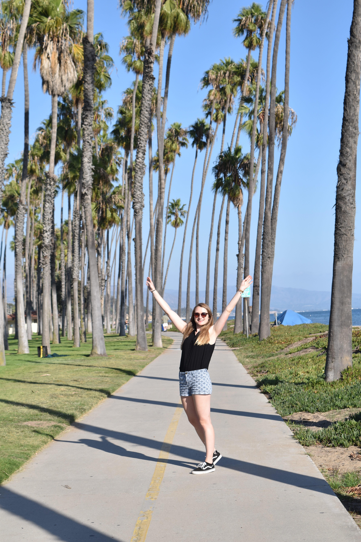 Juli unter Palmen