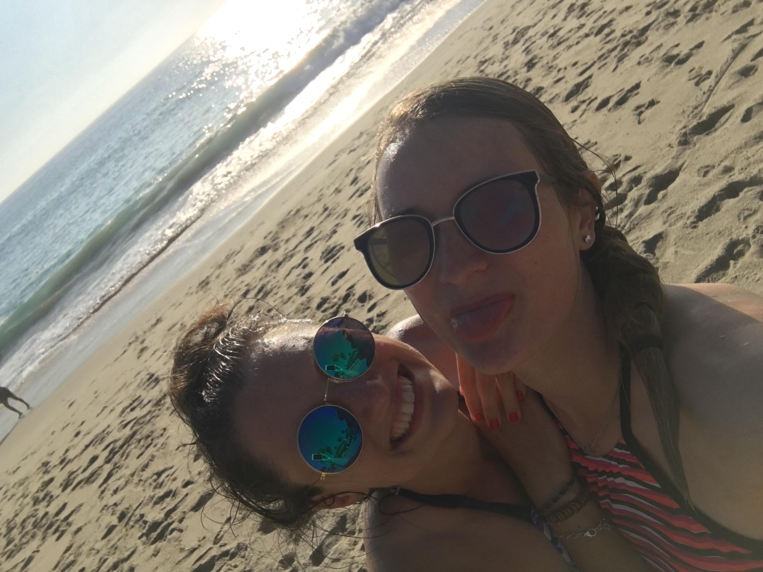 Am Strand Aliso Beach