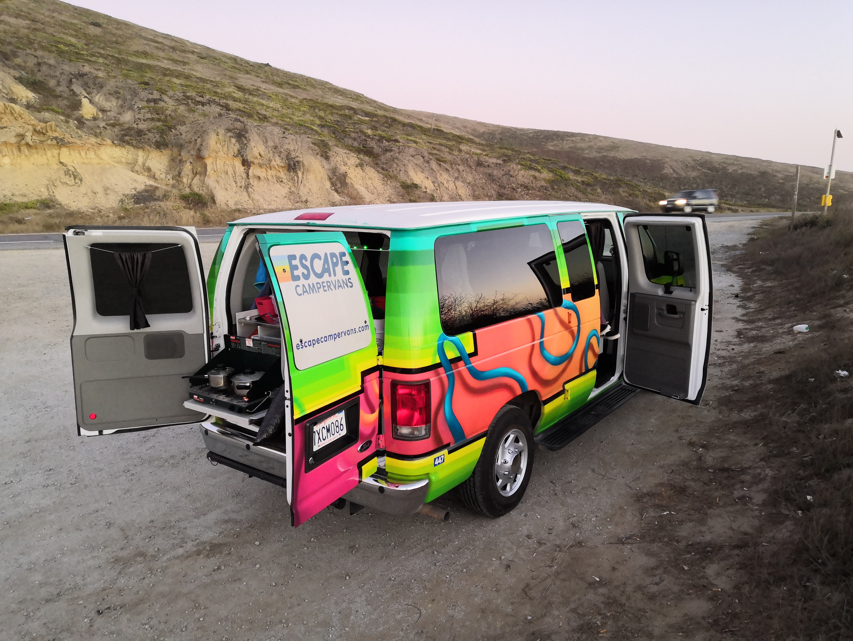 Der Van in der Bucht