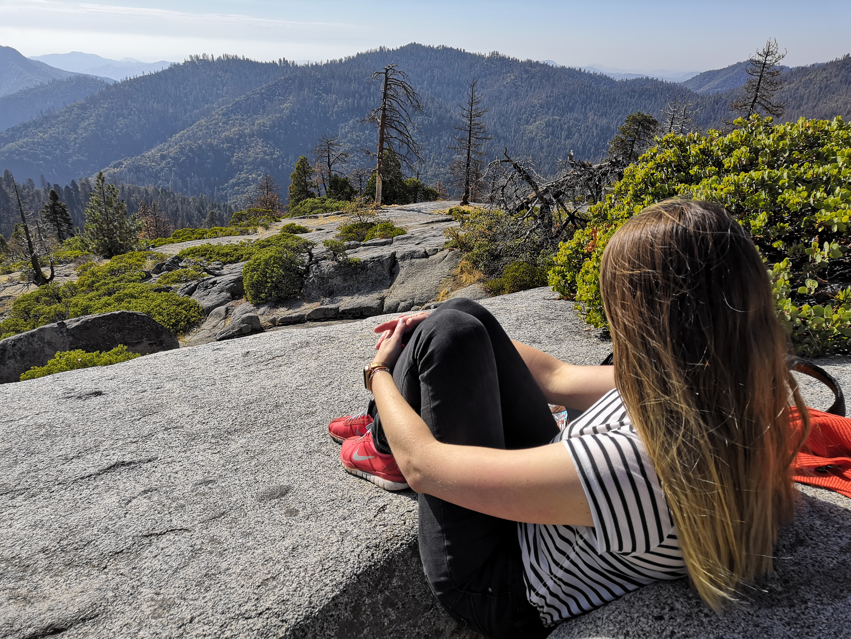 Juli Aussicht Sequoia