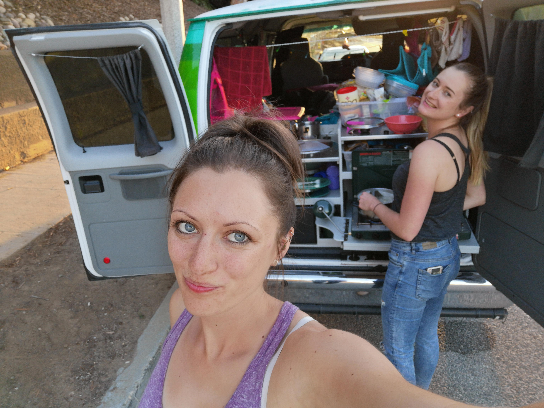 Kochen im Van