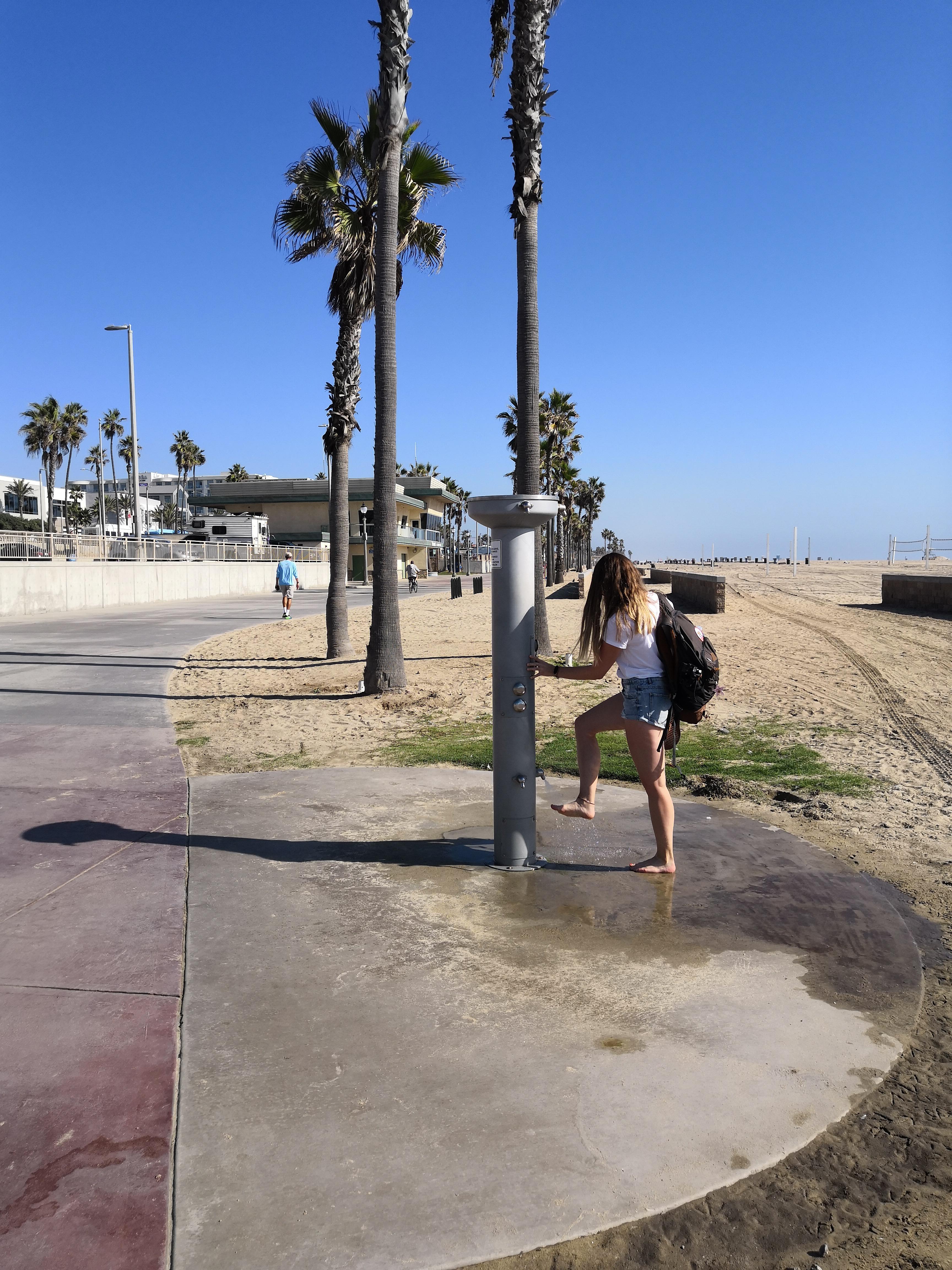 Stranddusche