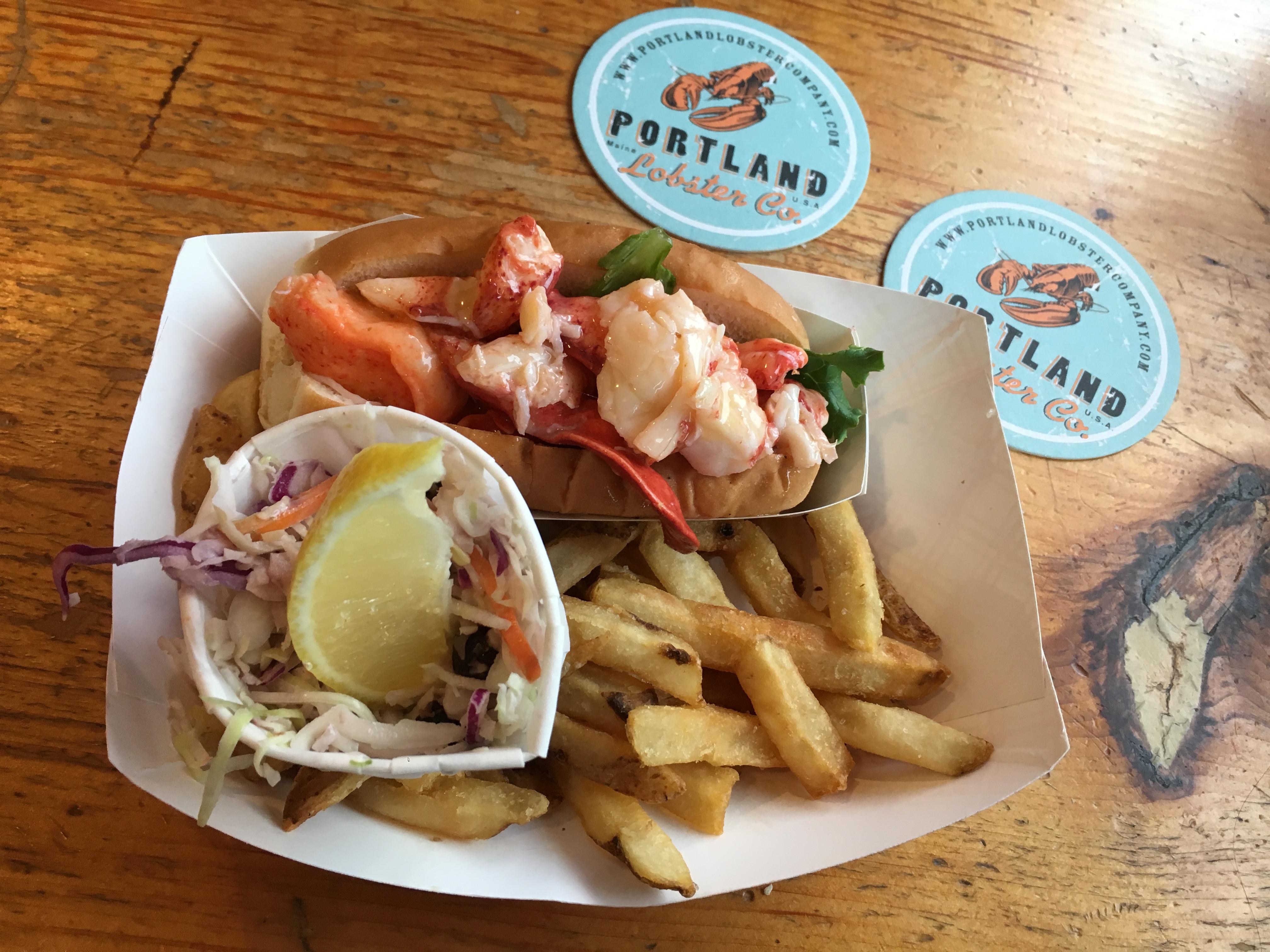 Lobster in Portland
