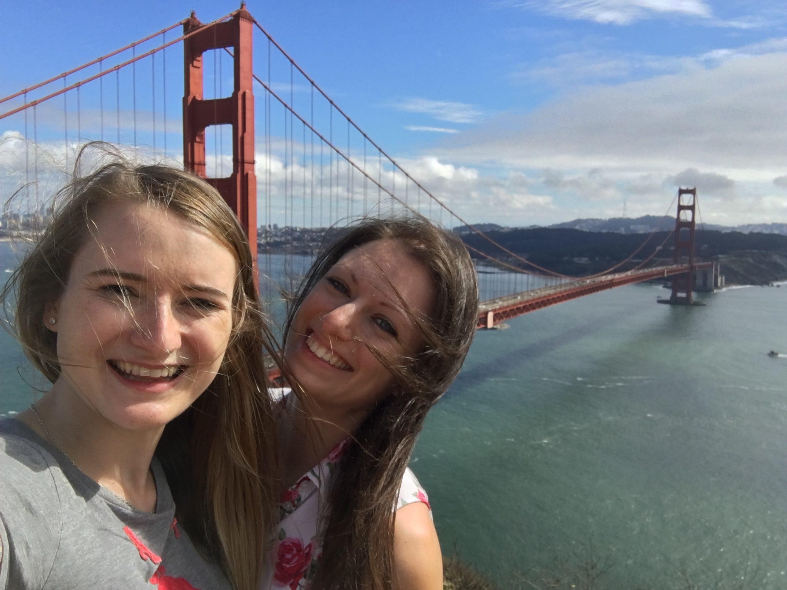 Golden Gate Bridge Selfie
