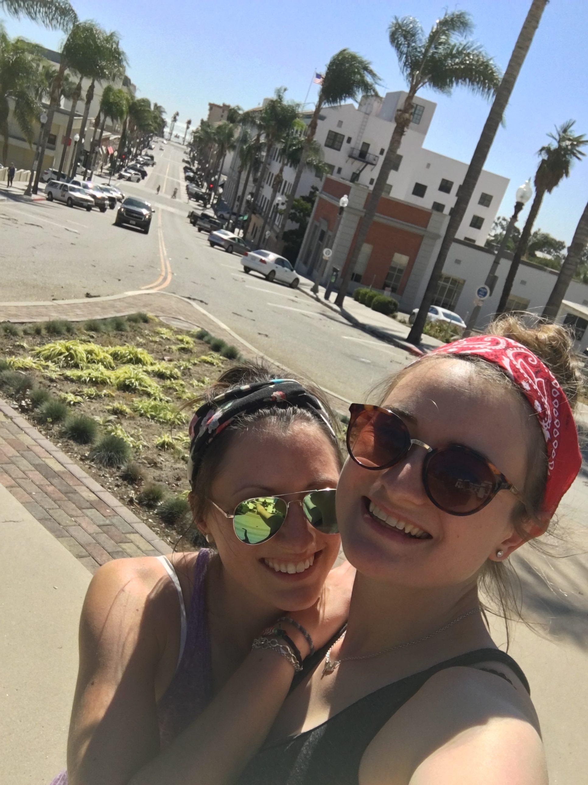 Ventura Stadt und wir