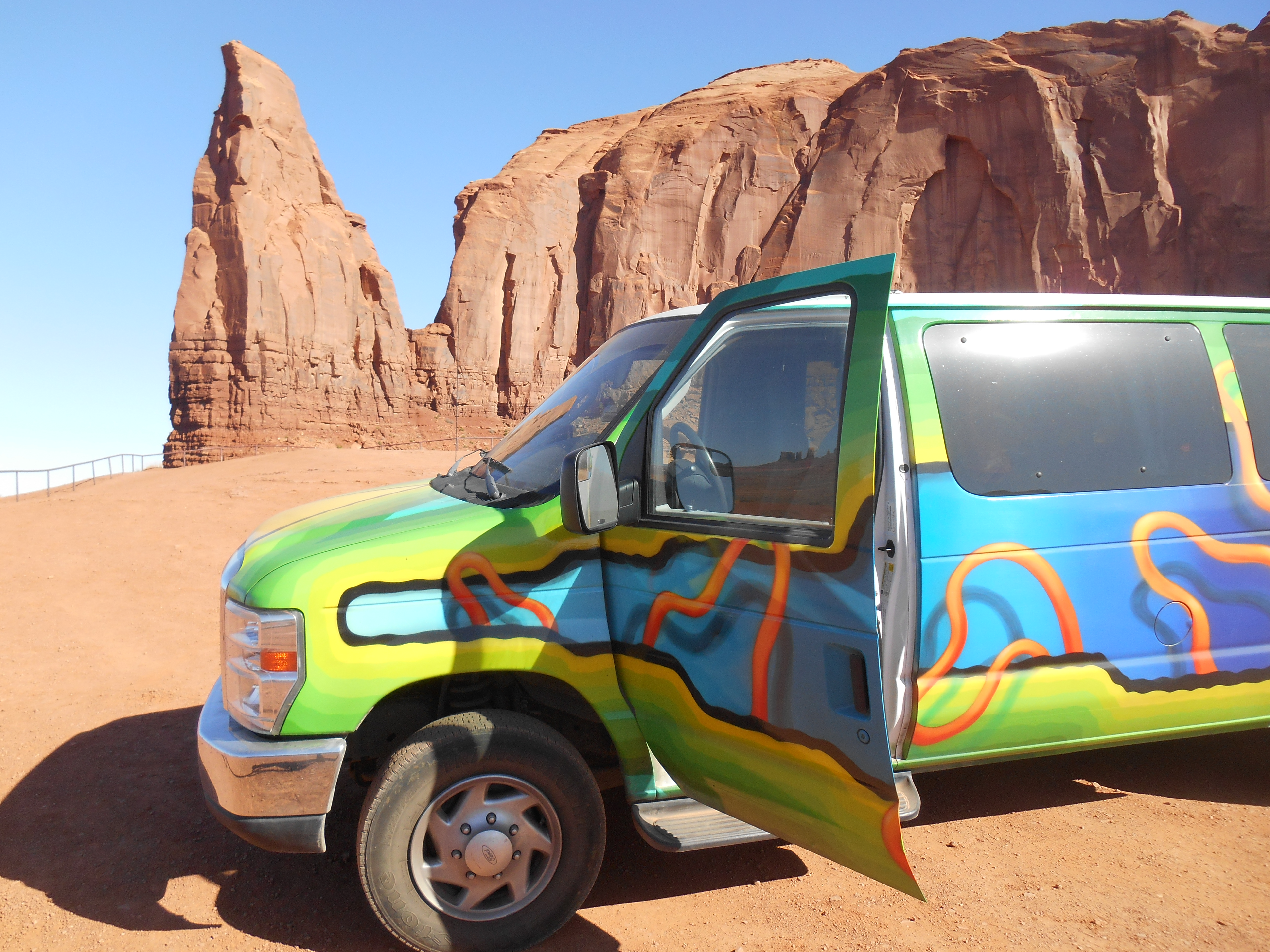 Monument Valley Vanlife