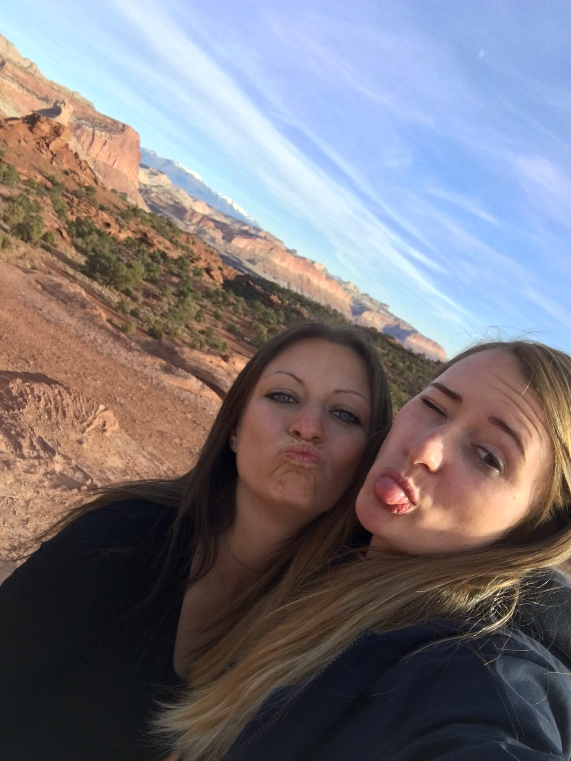 Juli und Sasy Selfie