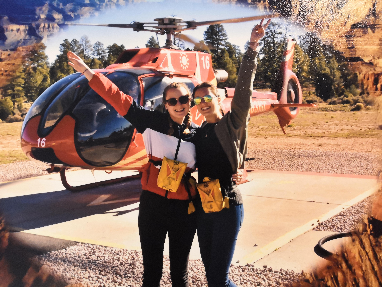 Unser Hubschrauber