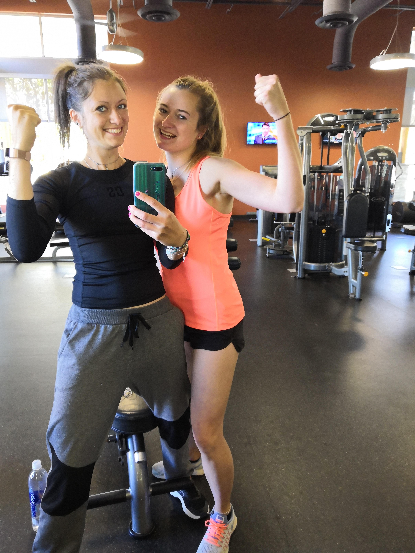 Spiegelselfie Fitnessstudio