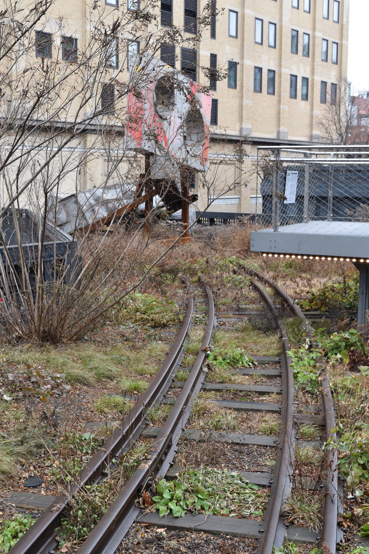 Gleise High Line Park