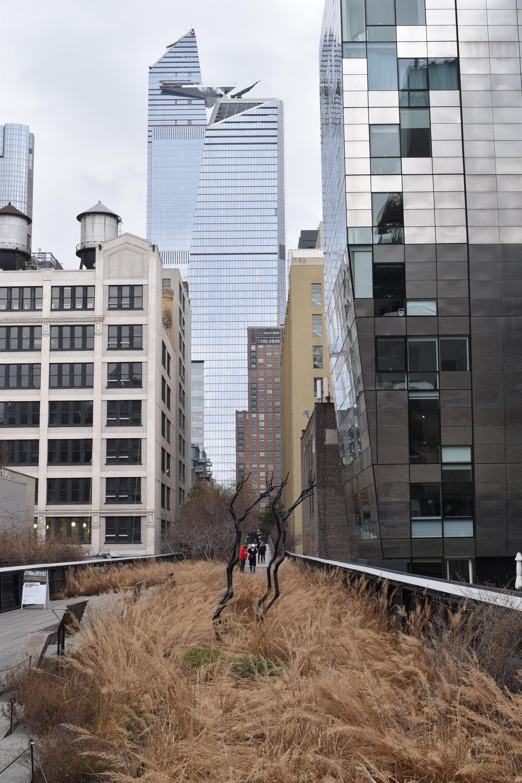 Gebäude High Line Park