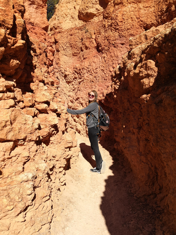Juli im Canyon