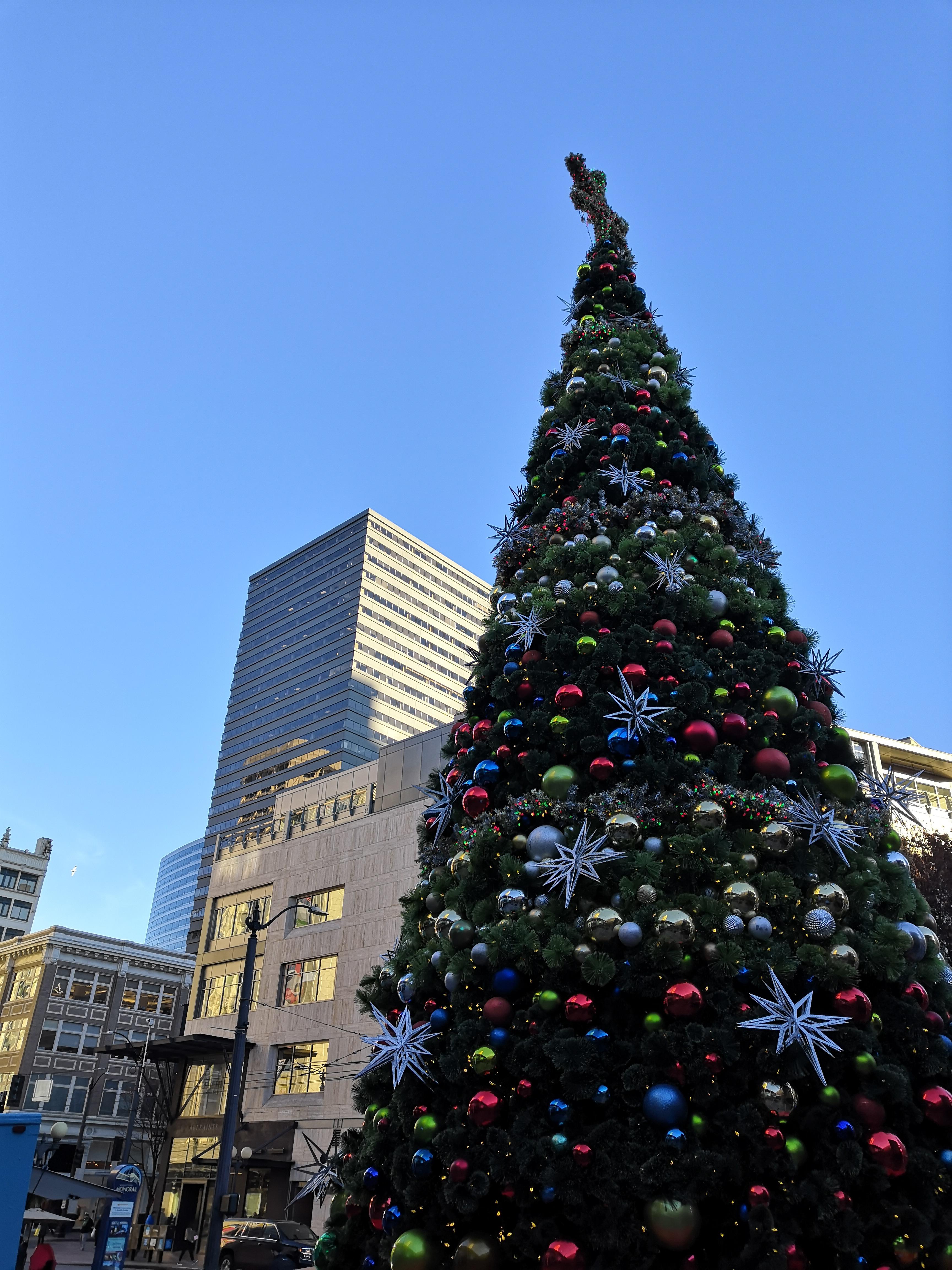 Weihnachtsbaum Seattle