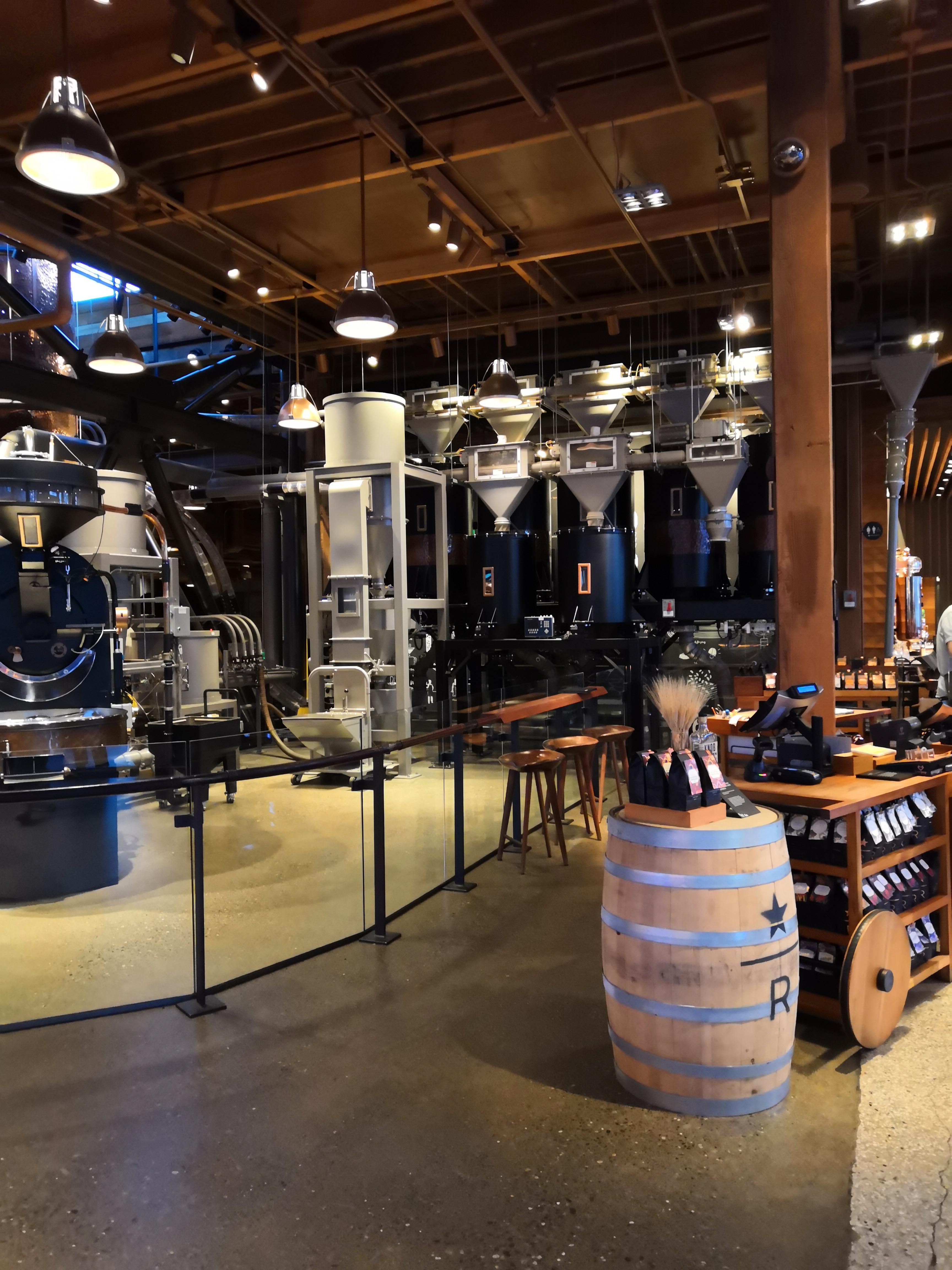 Starbucks Reserve Roastery Bohnen