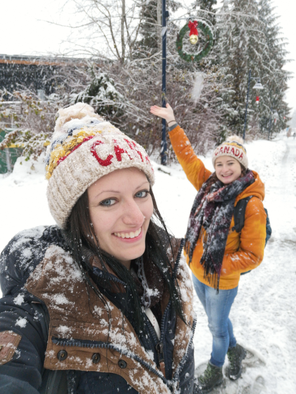 Schneewanderung Whistler