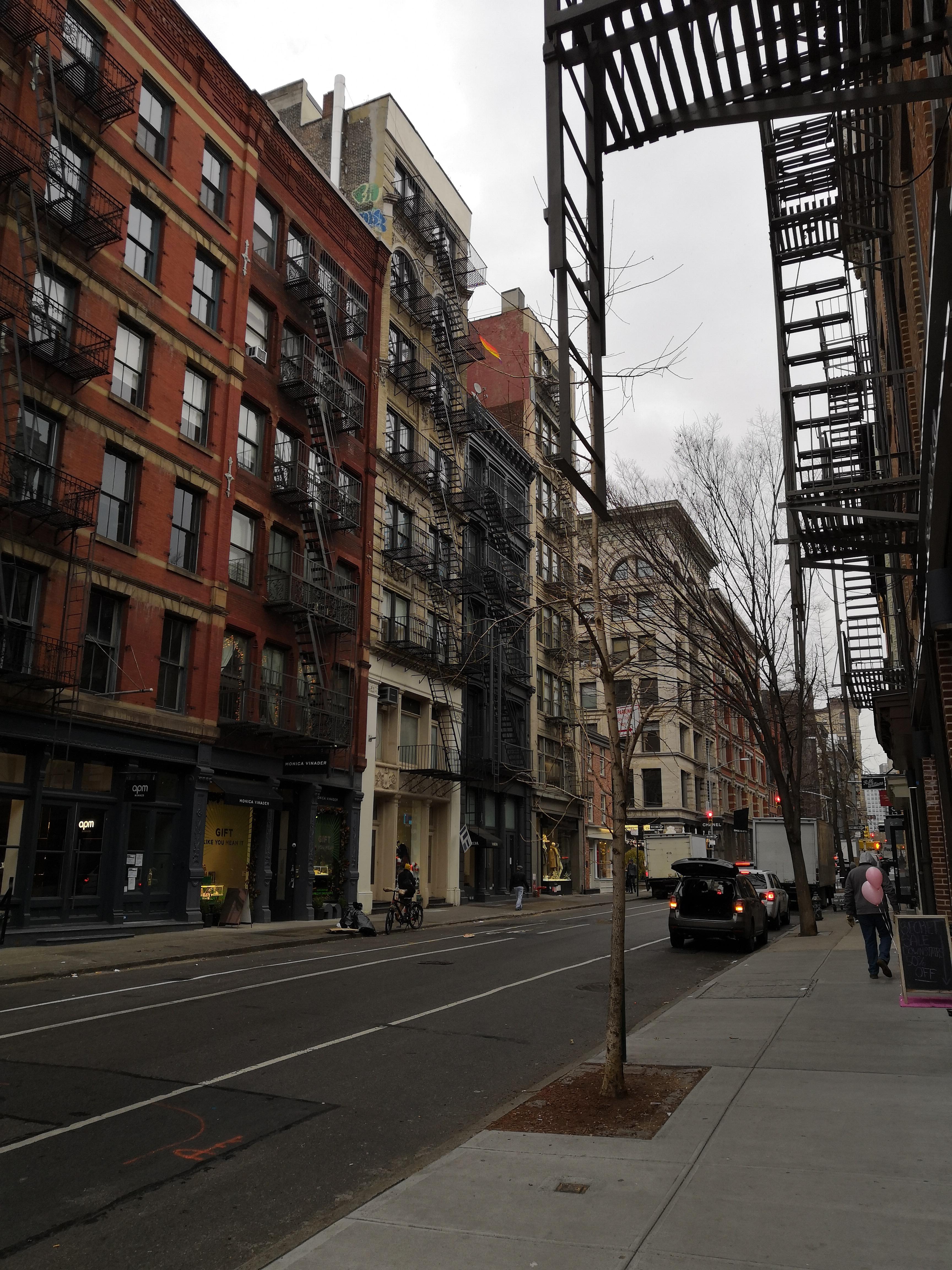 Street New York SoHo