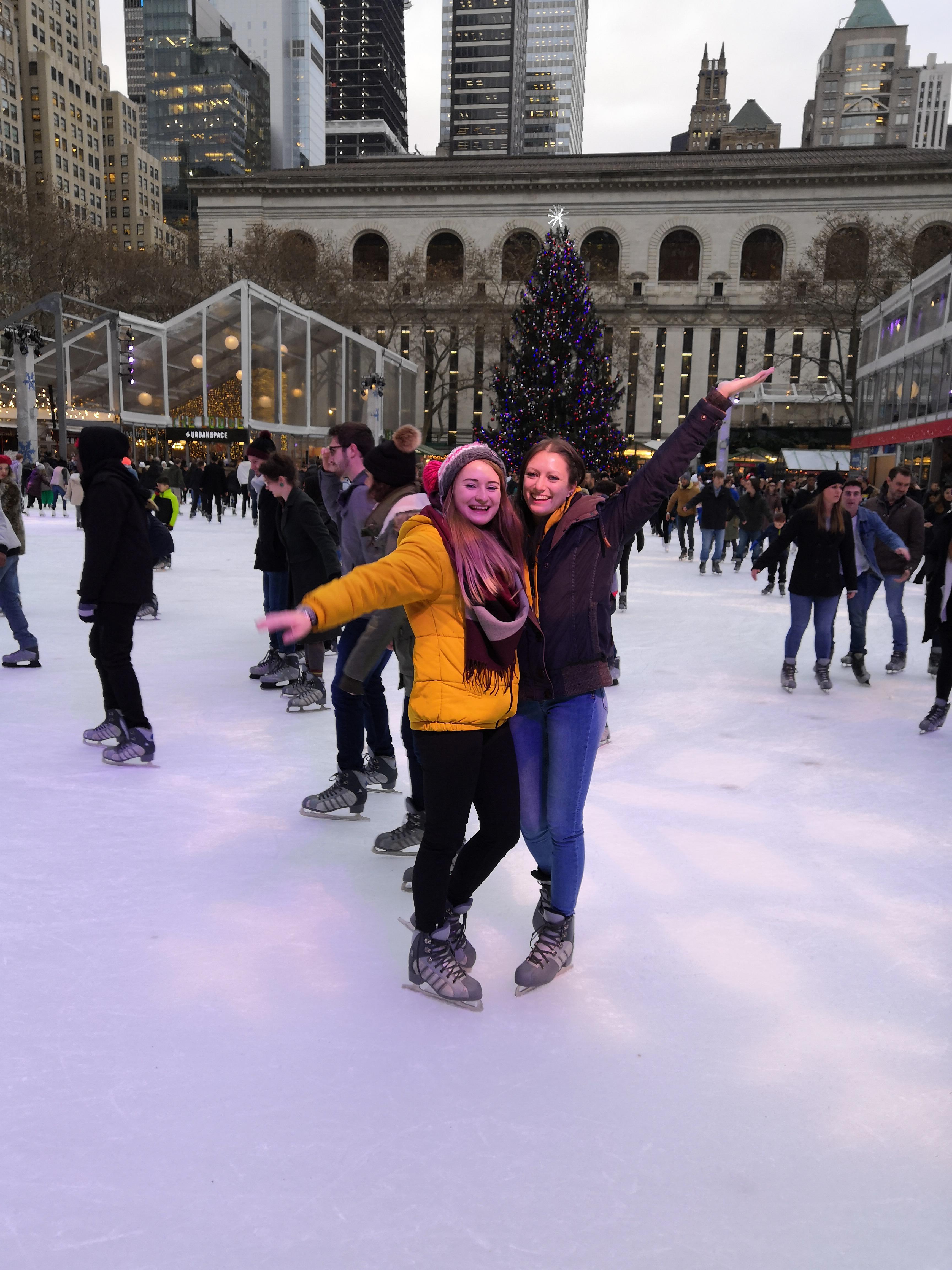 Eislaufen New York