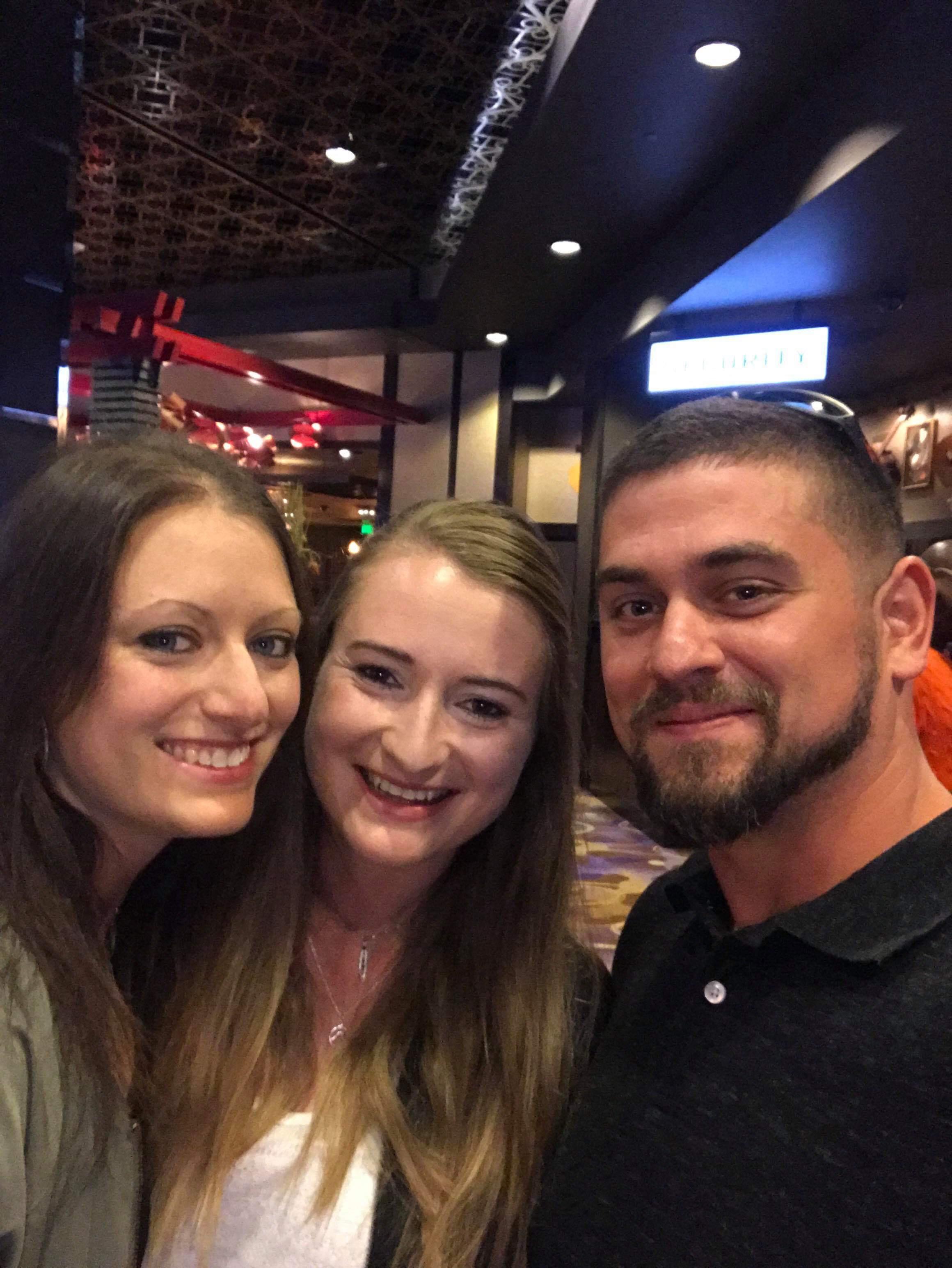 Jeremy und wir in Vegas