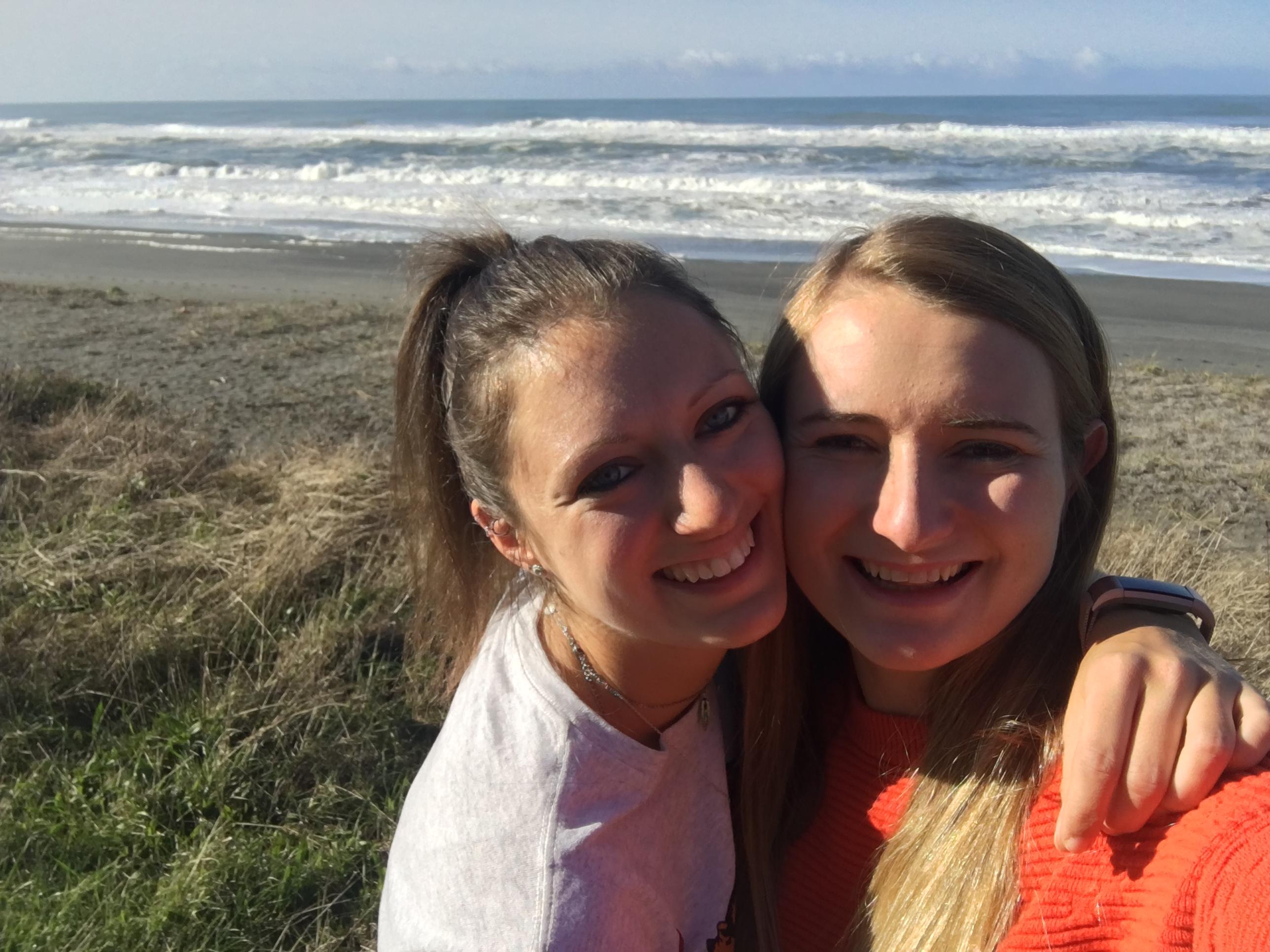 Selfie am Pazifik