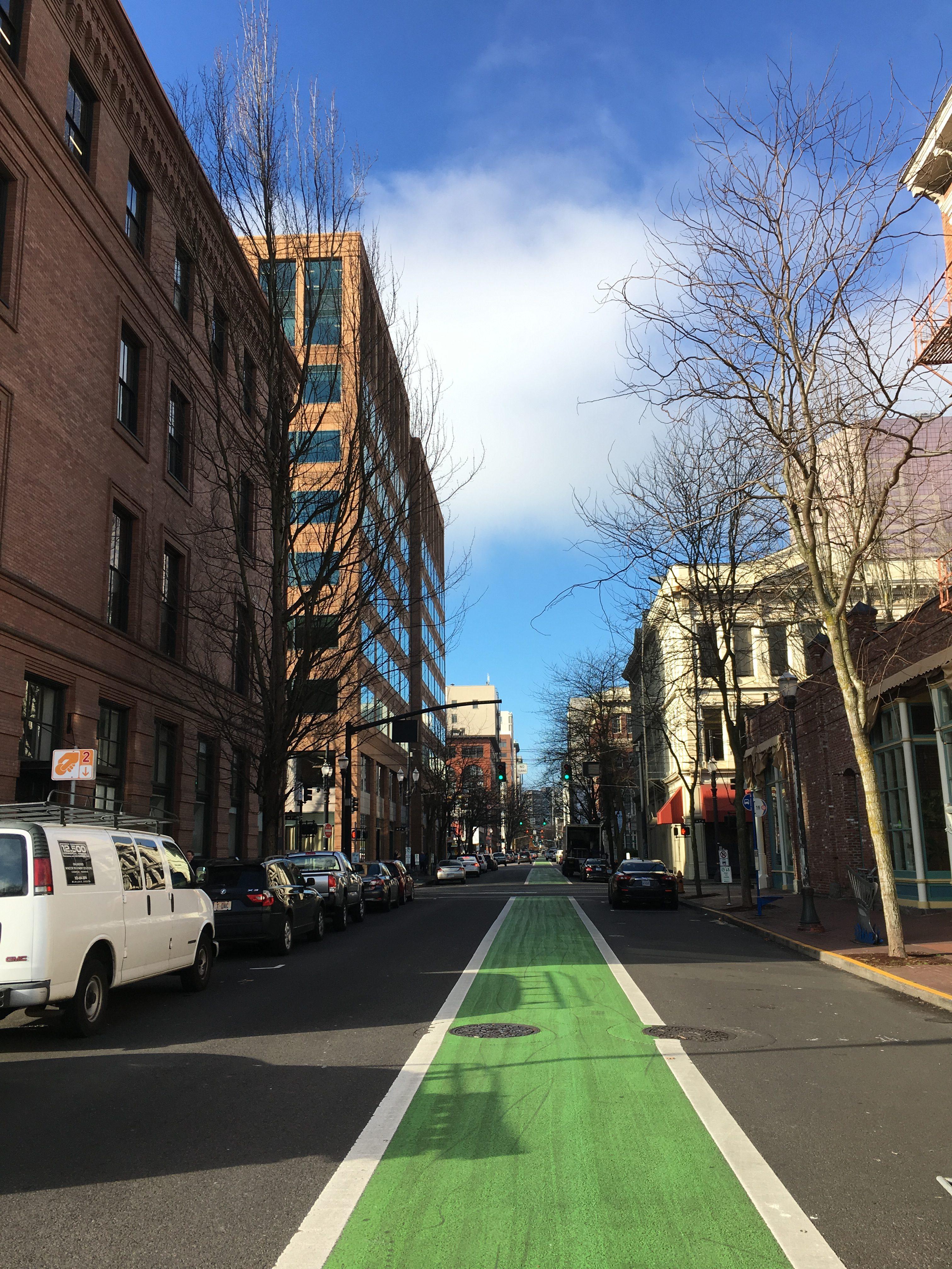 Straße in Portland