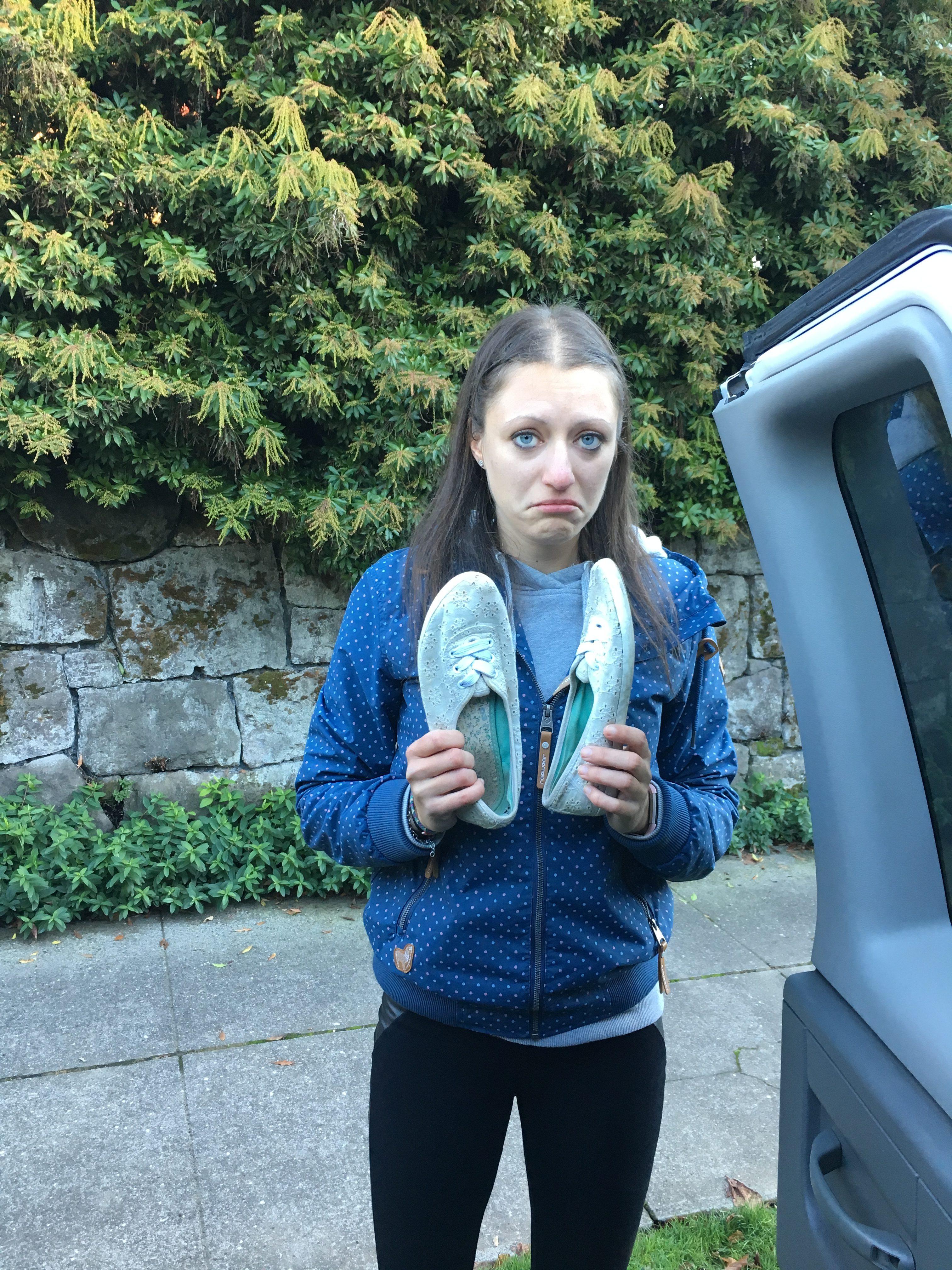 Van ausräumen Schuhe ausmisten