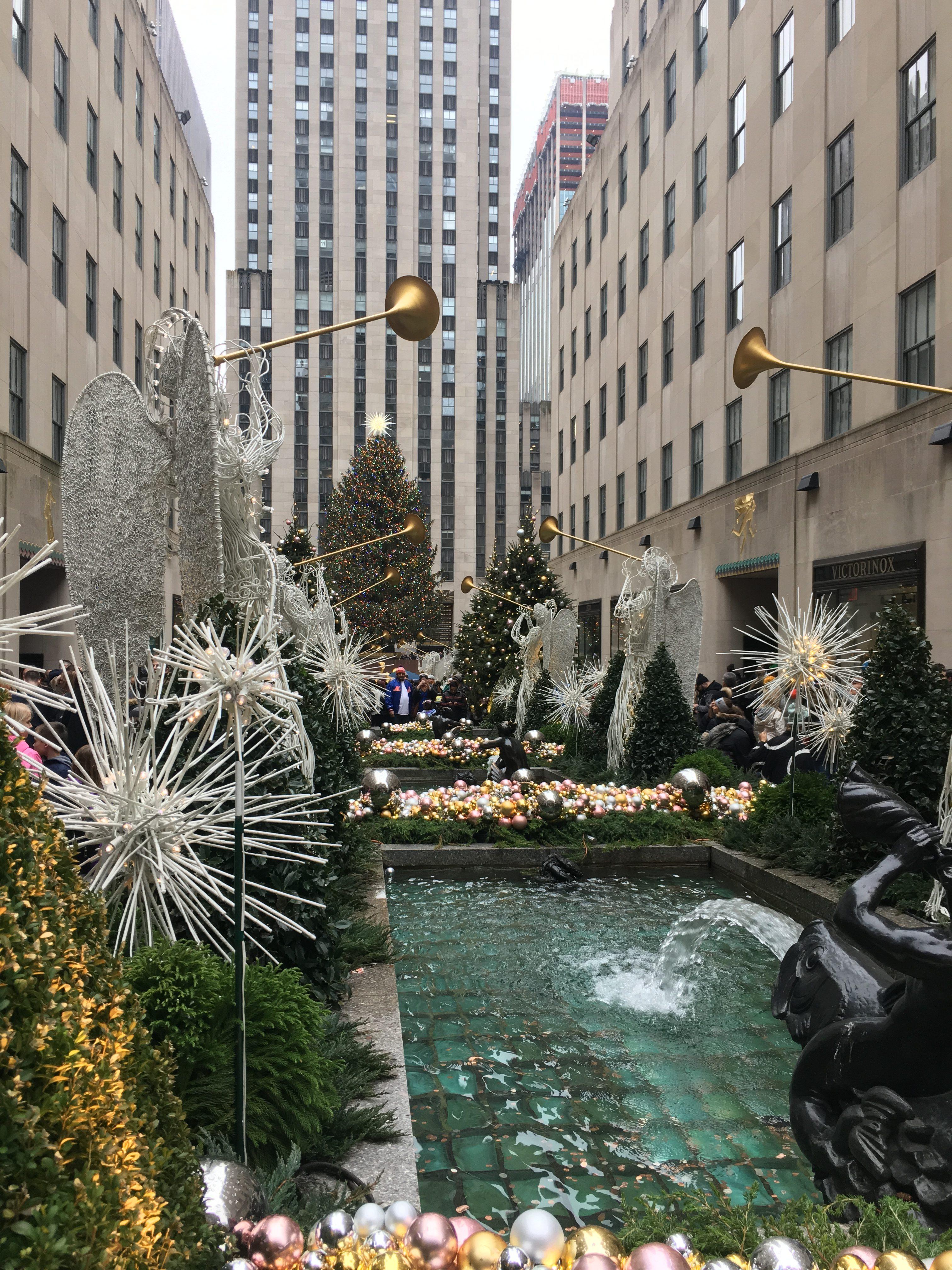 Weihnachtszeit New York